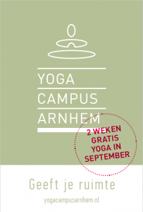 Gratis yoga in september